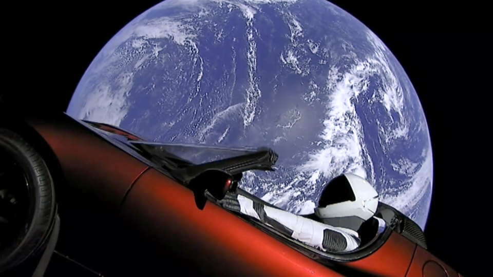Is there a carwash in Space?
